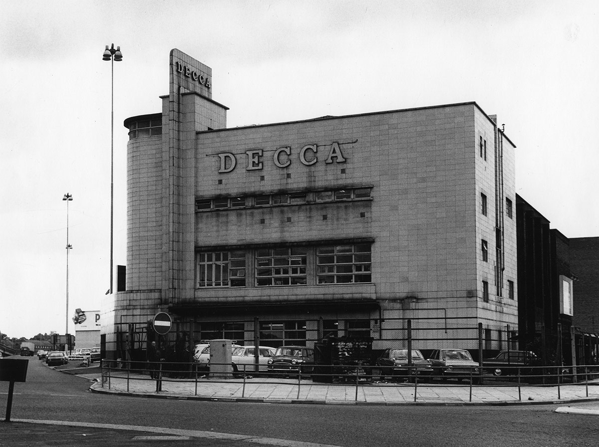The Decca plant in New Malden