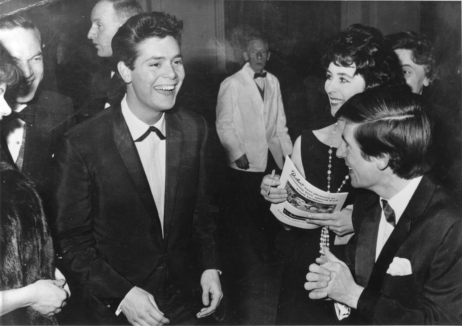 Cliff Richard at the ABC Cinema, 1962