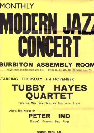 Surbiton Assembly Rooms poster
