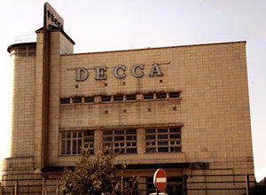 Decca record factory